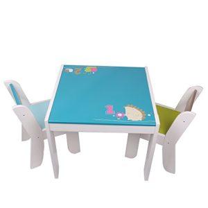 Kindersitzgruppe Igel - blau