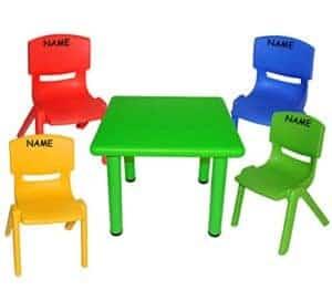 Kindersitzgruppe Kunststoff, Kindersitzgarnitur