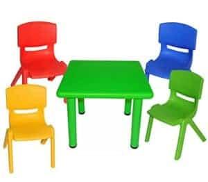 Kindersitzgruppe Kunststoff - Kindersitzgruppe Plastik