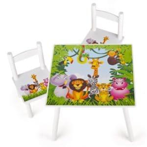 Kindersitzgarnitur Tiere - Dschungel
