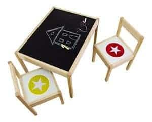 Kindersitzgruppe für Ikea Lätt - Kreideifolie