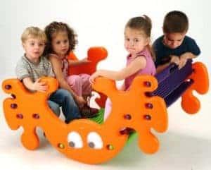 Feber 800002895 - Kindertisch und Wippe