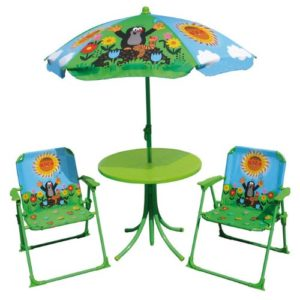 Kindersitzgruppe Garten - der kleine Maulwurf