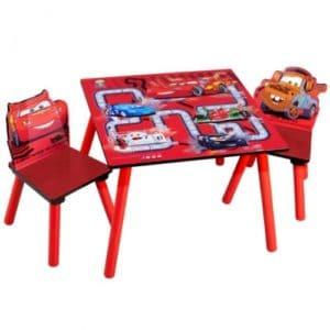 CARS Kindertisch und Stühle