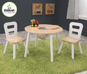 Kindersitzgruppe Holz - Tisch mit Stühlen