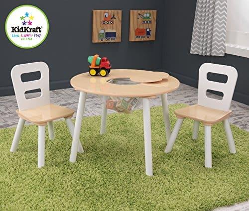 Kindertisch Mit Stühlen KidKraft Rund Mit