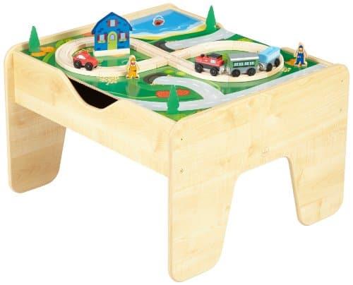 Spieltisch Eisenbahn spieltisch mit eisenbahn legoplatte kidkraft 17576 2in1