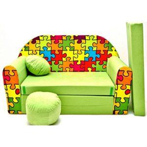 Kindersofa / Kincercouch - Puzzlemotiv