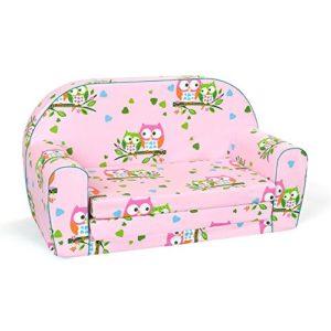 Kindersofa, Sofa für Kinder Eule