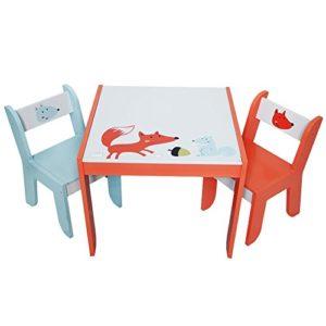 Kindersitzgarnitur mit Fuchs