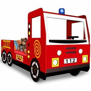 Feuerwehr Kinderbett, Autobett