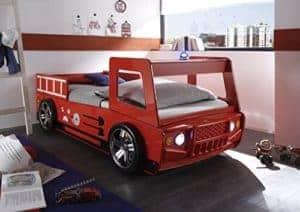 Feuerwehrbett für Kinder