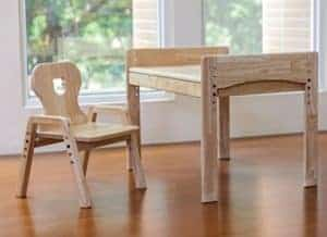 mitwachsende Kindersitzgruppe, höhenverstellbar