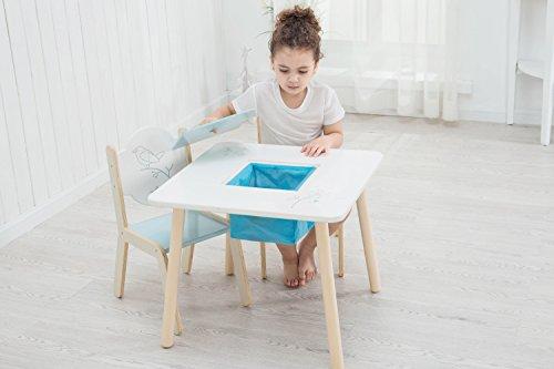 labebe kindertisch mit 2 sthle holz mit tafel f r 1 5 jahre alt sitzgruppe f r kinder. Black Bedroom Furniture Sets. Home Design Ideas